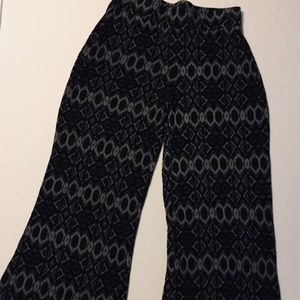 Mossimo Wide Leg Pull On Pants